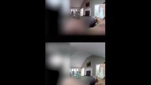 صهباء شرموطة بتمص الزبر وتاخد اللبن في الواقع الافتراضي